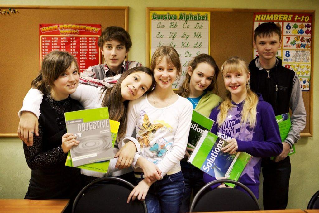 курсы английского для детей в Минске